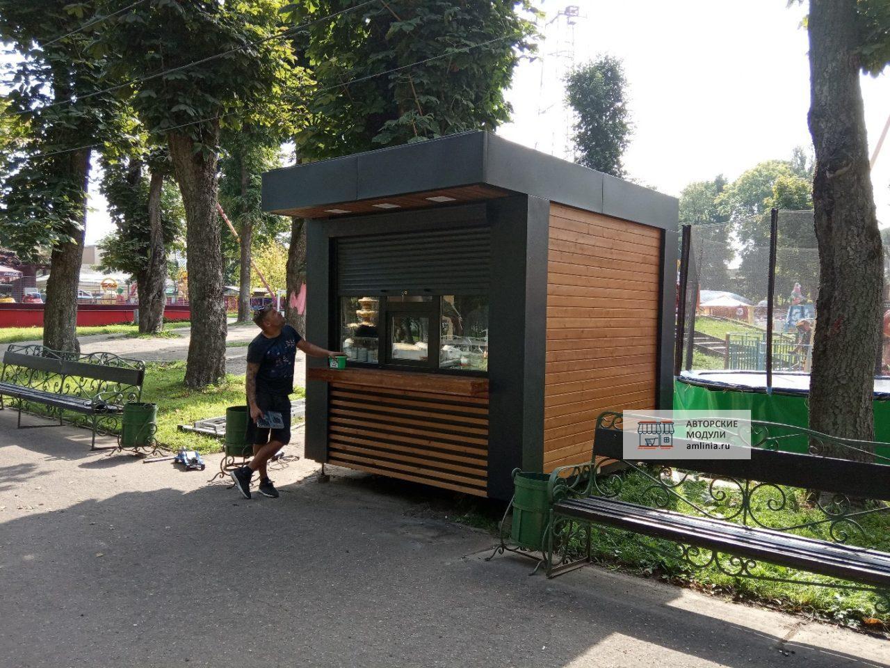 Киоск кофейный 2,5 х 3,0 метра, Смоленск