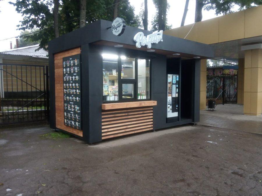 Киоск для кофе в Брянске